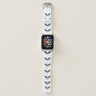 Bracelet Apple Watch Bande de montre verte d'Apple de motif de papillon