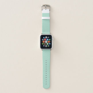 Bracelet Apple Watch Bande de montre verte en bon état d'Apple de motif