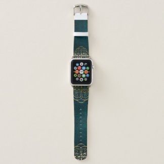 Bracelet Apple Watch Bande de montre vintage d'Apple de livre de cuir