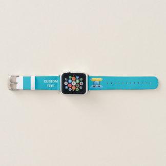 Bracelet Apple Watch Bande dessinée de lave-auto