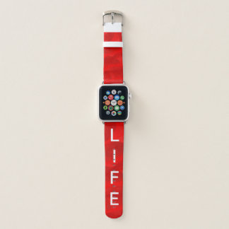Bracelet Apple Watch Bande rouge d'Iwatch de remous