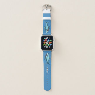 Bracelet Apple Watch Bandes de montre faites sur commande de monogramme