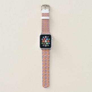 Bracelet Apple Watch Beau dernier motif mignon orange-clair énervé