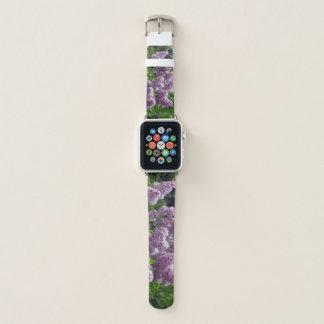 Bracelet Apple Watch Beaux lilas