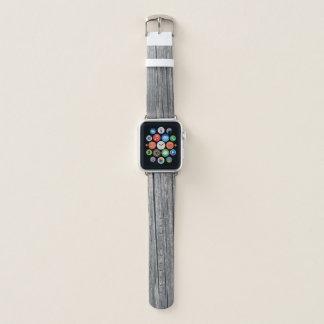 Bracelet Apple Watch Bois vintage rustique