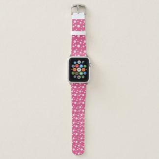 Bracelet Apple Watch Bulle rose d'amusement