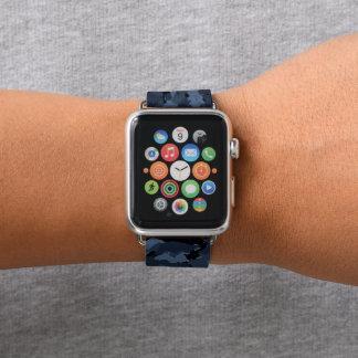 Bracelet Apple Watch Camo de minuit