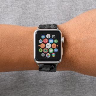 Bracelet Apple Watch Camo noir