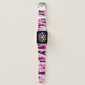 Bracelet Apple Watch Camo rose