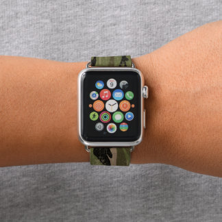 Bracelet Apple Watch Camo vert sale