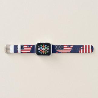 Bracelet Apple Watch Carte des Etats-Unis
