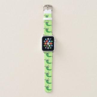 Bracelet Apple Watch Chenille ringarde drôle fraîche avec le motif en
