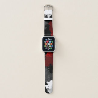 Bracelet Apple Watch Ciel cramoisi