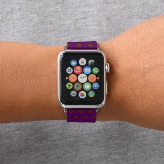Bracelet Apple Watch Coeur de fonte gothique d'amour