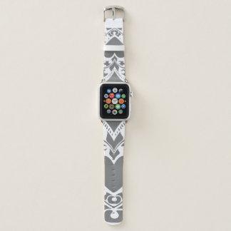Bracelet Apple Watch Coeur en filigrane - bande de montre faite sur