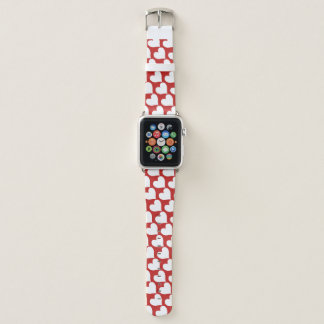 Bracelet Apple Watch Coeurs