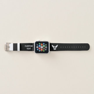 Bracelet Apple Watch Colombe avec la croix