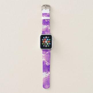 Bracelet Apple Watch Colorant pourpre de cravate