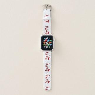 Bracelet Apple Watch Conception élégante d'amour et de coeurs
