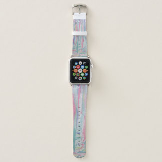 Bracelet Apple Watch Cool d'art d'aquarelle d'expressionisme abstrait