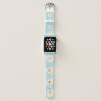 Bracelet Apple Watch Copie sans couture des oeufs brouillés