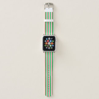 Bracelet Apple Watch couleurs irlandaises de drapeau