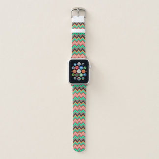 Bracelet Apple Watch Courroie de bande de montre d'Apple de chevron