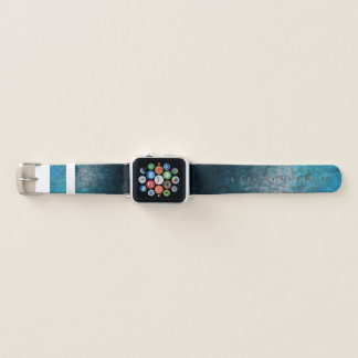 Bracelet Apple Watch Cyan atmosphérique - bande de montre d'Apple