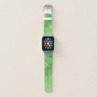 Bracelet Apple Watch Dessin géométrique abstrait de LoveGeo - citron de