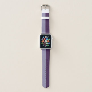 Bracelet Apple Watch Deux ton - pourpre