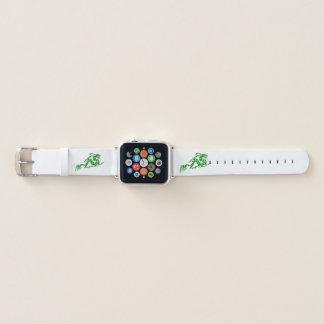 Bracelet Apple Watch Dragon vert