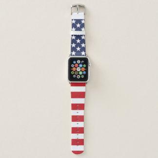 Bracelet Apple Watch Drapeau américain patriotique