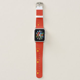 Bracelet Apple Watch Drapeau de la Chine