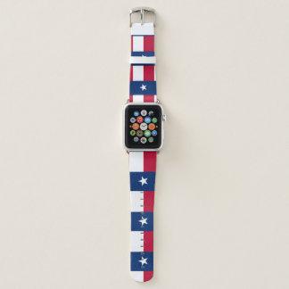 Bracelet Apple Watch Drapeau du Texas