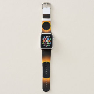 Bracelet Apple Watch Éclipse solaire