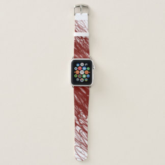 Bracelet Apple Watch Écoulement rouge - Apple observent