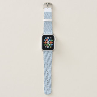 Bracelet Apple Watch Élément de symbole de zodiaque de Verseau par