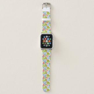 Bracelet Apple Watch Éléphants colorés de jungle