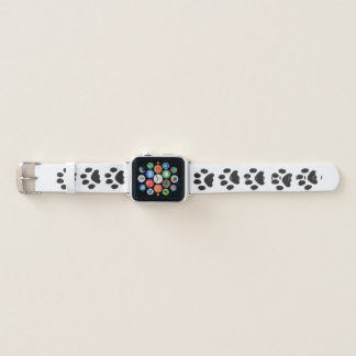 Bracelet Apple Watch Empreintes de pattes de chat