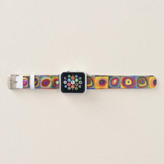 Bracelet Apple Watch Étude de couleur par Wassily Kandinsky