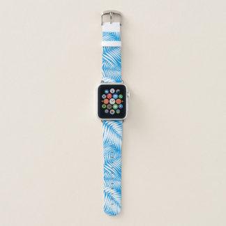 Bracelet Apple Watch Feuille hawaïenne de paumes de Kona tropicale -
