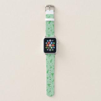 Bracelet Apple Watch Feuillu