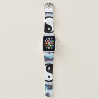 Bracelet Apple Watch Flamme de Yin Yang Teal