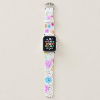 Bracelet Apple Watch Fleurs mignonnes superbes