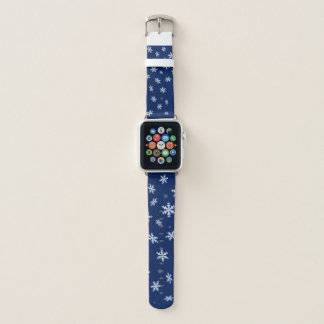 Bracelet Apple Watch Flocons de neige