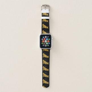 Bracelet Apple Watch Fox d'or