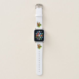 Bracelet Apple Watch Fraises fraîches