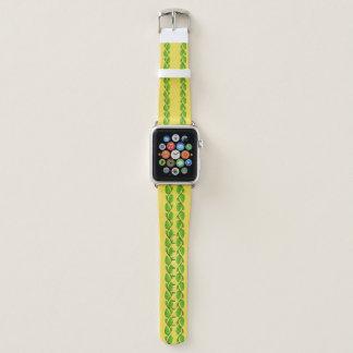 Bracelet Apple Watch Frontière de vigne de feuille par Kenneth Yoncich