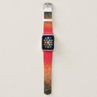 Bracelet Apple Watch Gradation rouge linéaire - bande de montre d'Apple