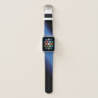 Bracelet Apple Watch Gradient bleu et noir